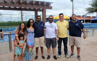 Primeira fase do Parque Aquático do Clube Social