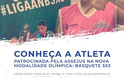 Conheça a nova atleta patrocinada pela Assejus