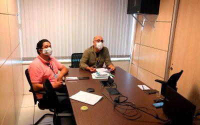 Diretoria da Assejus se reúne com primeira vice-presidência do TJDFT por videoconferência