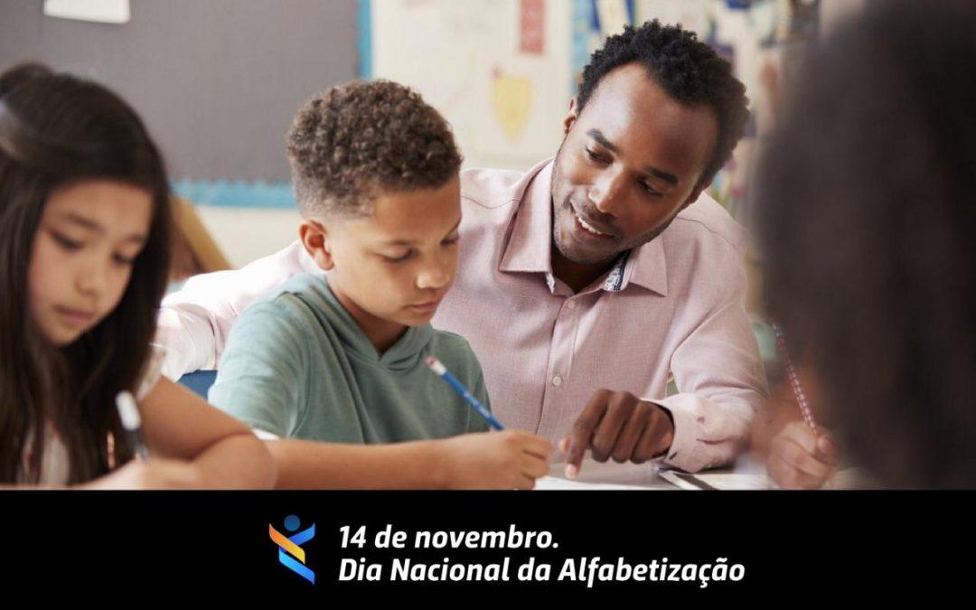 14 de novembro é o Dia Nacional da Alfabetização