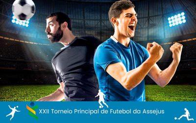XXII Torneio Principal de Futebol da Assejus: Inscrições vão até o dia 17 de novembro