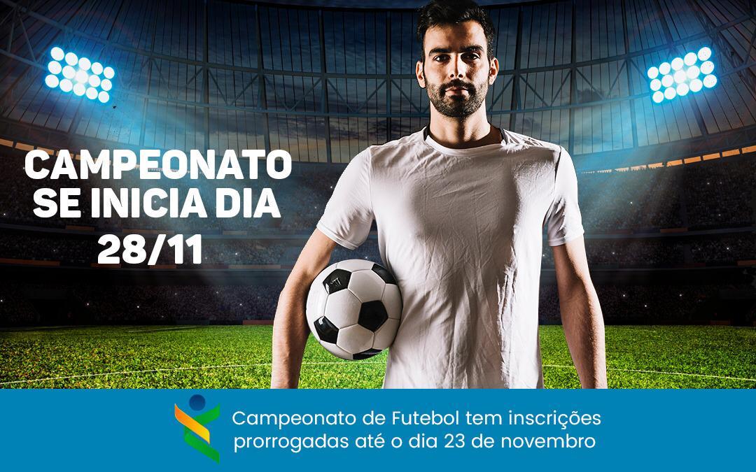 Inscrições para o XXII Torneio Principal de Futebol da Assejus são prorrogadas até dia 23/11