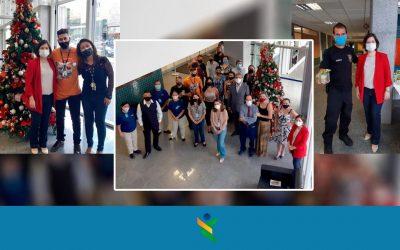 Final de ano no Fórum do Núcleo Bandeirante: kits de café da manhã e árvore de Natal